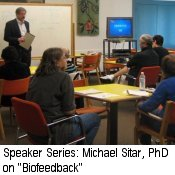 Speaker Series Michael Sitar PhD on Biofeedback